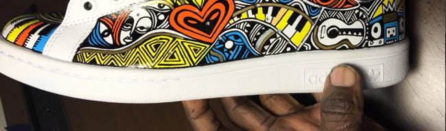 Laolu-Senbanjo-Hand-Painted-Adidas-Africa-Fashion
