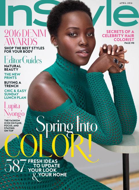 Lupita Nyongo InStyle Cover Africa Fashion