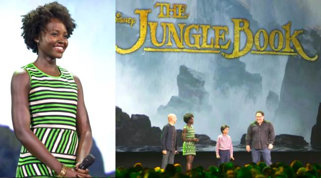 Lupita Nyongo Jungle Book Africa Fashion