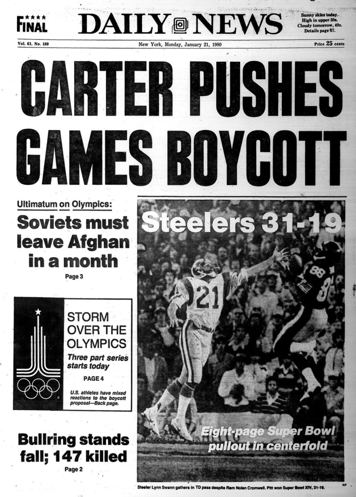 Carter boycott