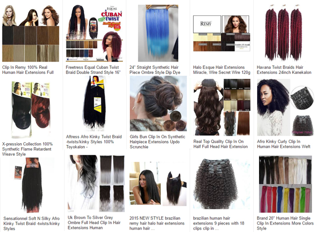 Africa_Fashion_Hair Extensions