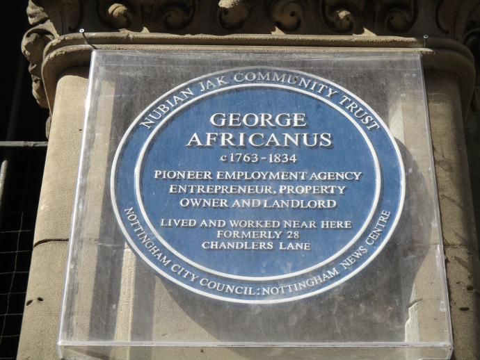 George Africanus Plaque (c) Louse Jayne